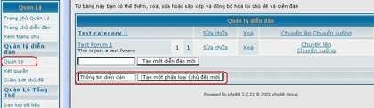 Hướng dẫn cài đặt phpBB Forum