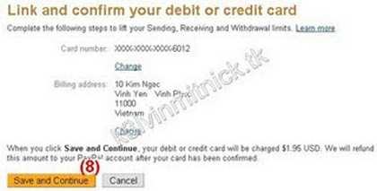 Cách đăng ký và verify tài khoản PayPal Việt Nam